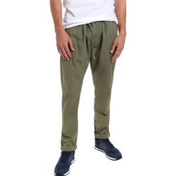 textil Herre Chinos / Gulerodsbukser Gaudi 011BU25015 Grøn