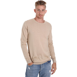 textil Herre Pullovere Sseinse ME1504SS Beige