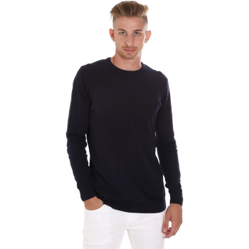 textil Herre Pullovere Sseinse ME1504SS Blå