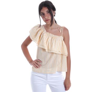 textil Dame Toppe / Bluser Pepe jeans PL303706 Gul
