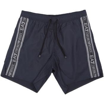 textil Herre Badebukser / Badeshorts Ea7 Emporio Armani 902000 0P734 Blå