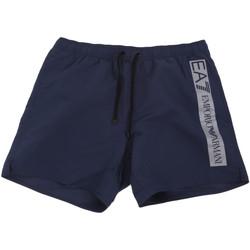 textil Herre Badebukser / Badeshorts Ea7 Emporio Armani 902000 0P732 Blå