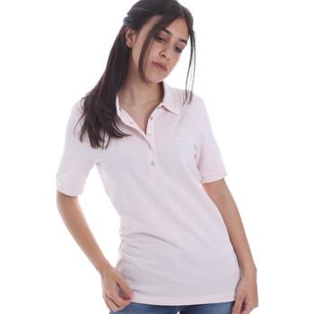 textil Dame Polo-t-shirts m. korte ærmer Geox W0210B T2649 Lyserød