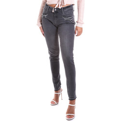textil Dame Smalle jeans Gas 355766 Grå