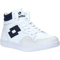 Sko Herre Høje sneakers Lotto L56883 hvid