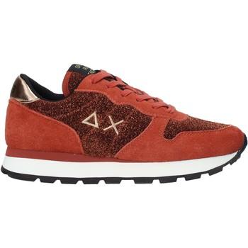 Sko Dame Lave sneakers Sun68 Z40205 Rød