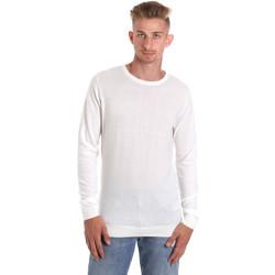 textil Herre Langærmede T-shirts Sseinse ME1504SS hvid