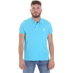 textil Herre Polo-t-shirts m. korte ærmer U.S Polo Assn. 58561 41029 Blå