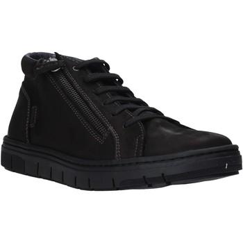 Sko Herre Høje sneakers Grunland PO1717 Sort