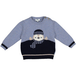 textil Børn Pullovere Melby 20B0100 Blå