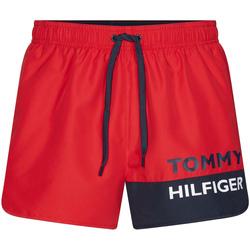 textil Herre Badebukser / Badeshorts Tommy Hilfiger UM0UM01683 Rød