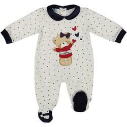 textil Børn Buksedragter / Overalls Melby 20N0681 hvid