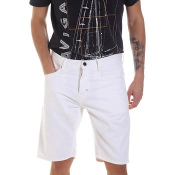 textil Herre Shorts Antony Morato MMSH00152 FA900123 hvid