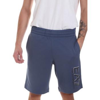 textil Herre Shorts Ea7 Emporio Armani 3HPS73 PJ05Z Blå