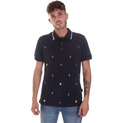 textil Herre Polo-t-shirts m. korte ærmer Navigare NV82120 Blå