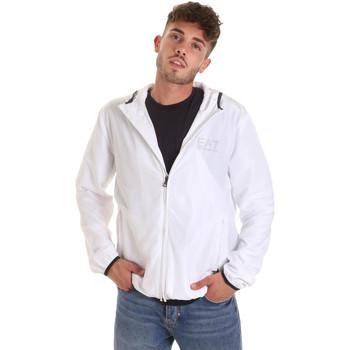 textil Herre Vindjakker Ea7 Emporio Armani 8NPB04 PNN7Z hvid