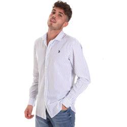 textil Herre Skjorter m. lange ærmer U.S Polo Assn. 58829 52741 Blå