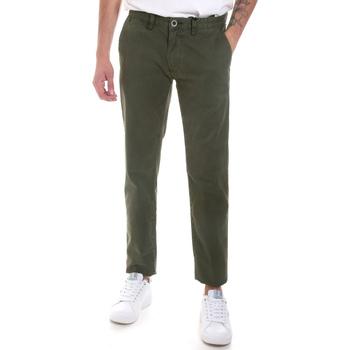 textil Herre Chinos / Gulerodsbukser Gaudi 821FU25013 Grøn