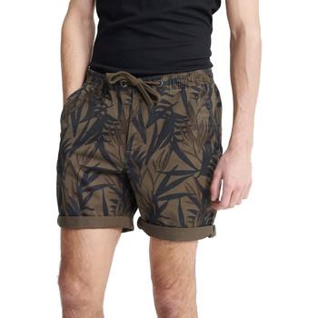 textil Herre Shorts Superdry M7110017A Grøn