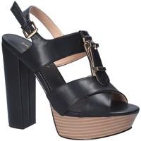 Sko Dame Sandaler Byblos Blu 682358 Sort