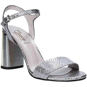 Sko Dame Sandaler Grace Shoes 2384L007 Grå