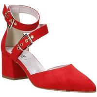 Sko Dame Højhælede sko Grace Shoes 774004 Rød