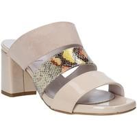 Sko Dame Tøfler Grace Shoes 116003 Beige