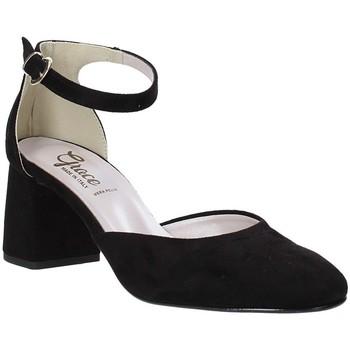 Sko Dame Højhælede sko Grace Shoes 056016 Sort