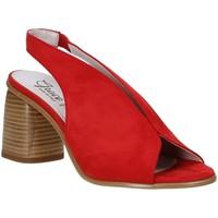 Sko Dame Sandaler Grace Shoes 492S001 Rød