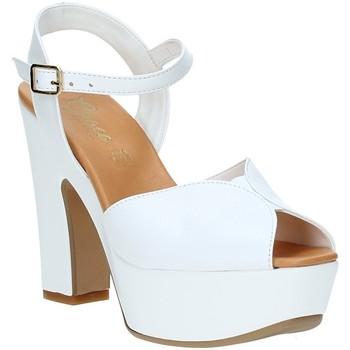 Sko Dame Sandaler Grace Shoes FLY hvid