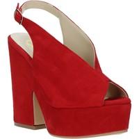 Sko Dame Sandaler Grace Shoes ALBA 107 Rød