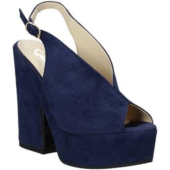 Sko Dame Sandaler Grace Shoes ALBA 107 Blå