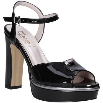 Sko Dame Sandaler Grace Shoes 5753003 Sort
