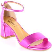 Sko Dame Sandaler Grace Shoes 380008 Lyserød