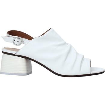 Sko Dame Højhælede sko Mally 6806 hvid
