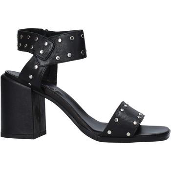 Sko Dame Højhælede sko Mally 6278G Sort