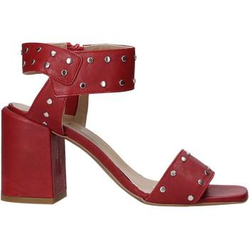 Sko Dame Højhælede sko Mally 6278B Rød