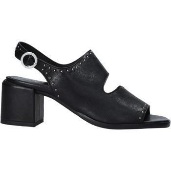 Sko Dame Højhælede sko Mally 6868 Sort