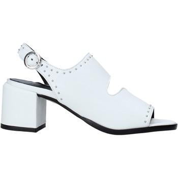 Sko Dame Højhælede sko Mally 6868 hvid