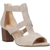 Sko Dame Højhælede sko Clarks 26141571 Beige