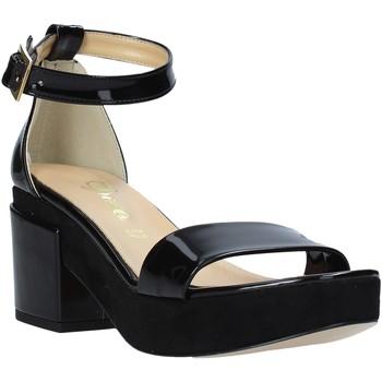 Sko Dame Højhælede sko Grace Shoes 9978 Sort