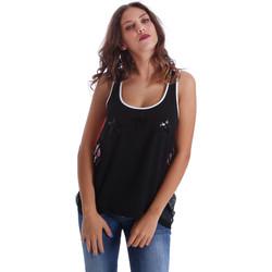 textil Dame Toppe / T-shirts uden ærmer Fornarina BE17T523CA05E9 Sort