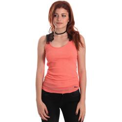 textil Dame Toppe / T-shirts uden ærmer Fornarina BE175J75H26368 Orange