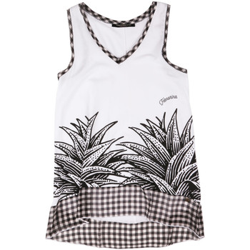 textil Dame Toppe / T-shirts uden ærmer Fornarina BERT484JF7409 hvid