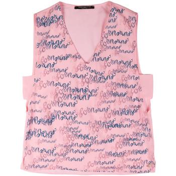 textil Dame Toppe / T-shirts uden ærmer Fornarina BERT486C97366 Lyserød