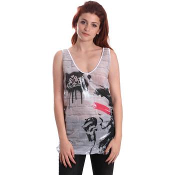 textil Dame Toppe / T-shirts uden ærmer Fornarina SE175J67H27509 hvid