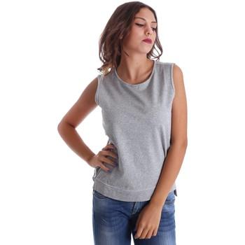 textil Dame Toppe / T-shirts uden ærmer Fornarina SE17T524F42990 Grå