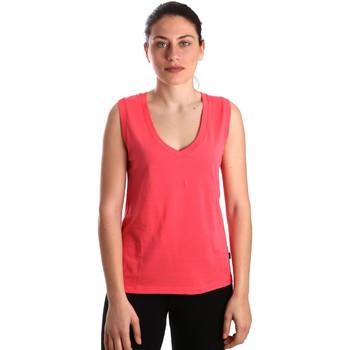 textil Dame Toppe / T-shirts uden ærmer Converse 10017502-A01 Lyserød