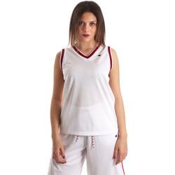 textil Dame Toppe / T-shirts uden ærmer Champion 111382 hvid