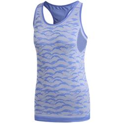 textil Dame Toppe / T-shirts uden ærmer adidas Originals CF5138 Blå